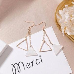 NEW KELLY Cute Triangle Handmade Earrings 7